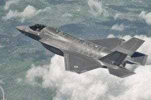 LIBRARY IMAGE: The first flight for the U.K.'s first F-35, known as BK-1, took place on April 13, 2012. BK-1 is also the first international F-35. Courtesy of Lockheed Martin