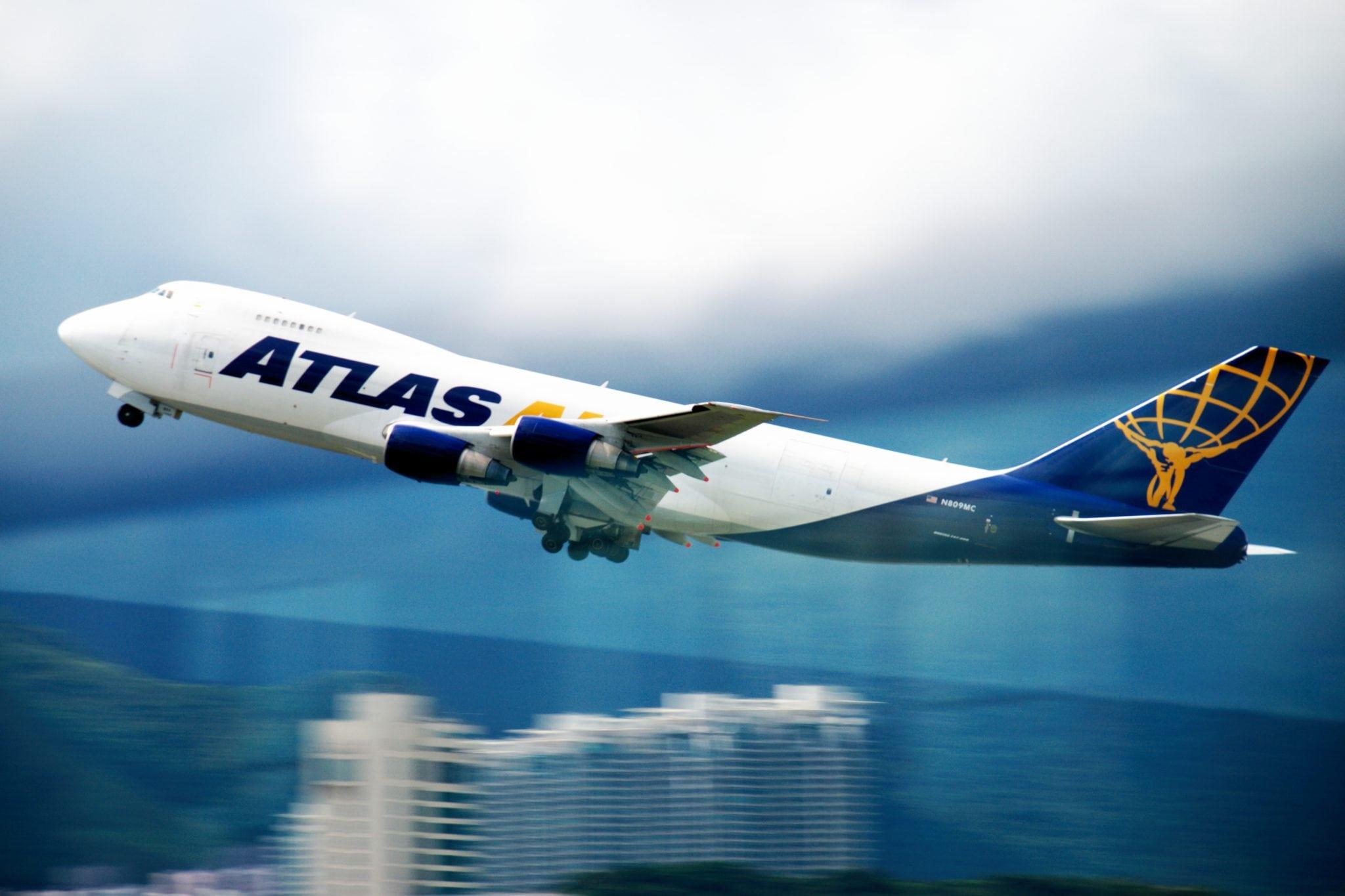 An Atlas Air flight