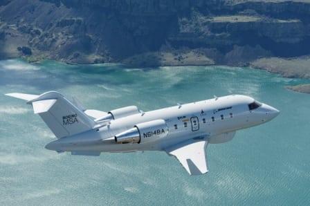 A Boeing Maritime Surveillance Plane