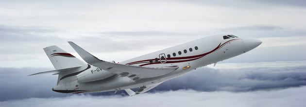 Dassault Falcon 2 Flight
