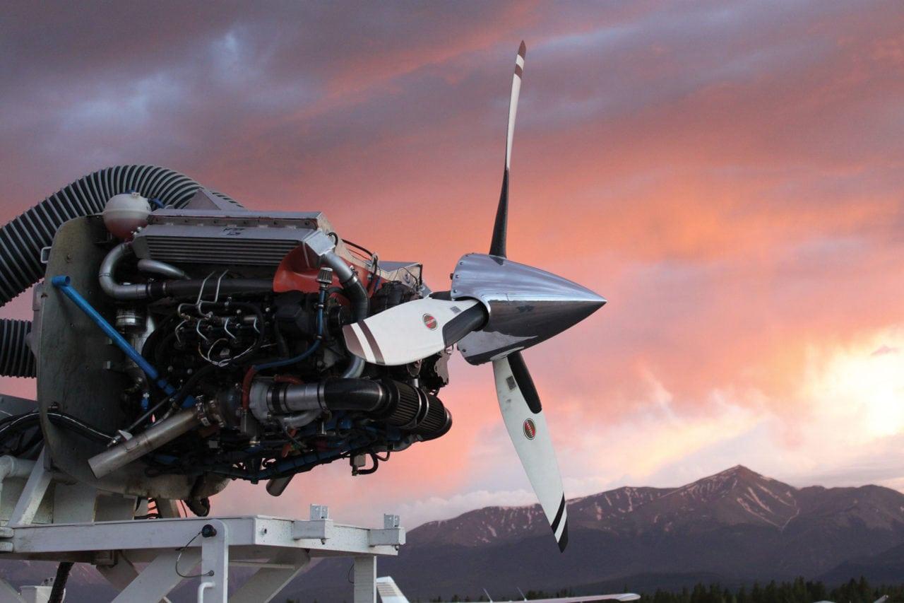 Diesel Jet Engine