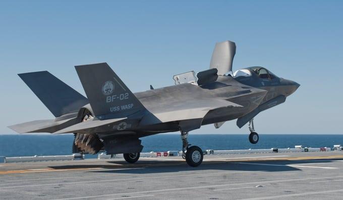 An F-35B
