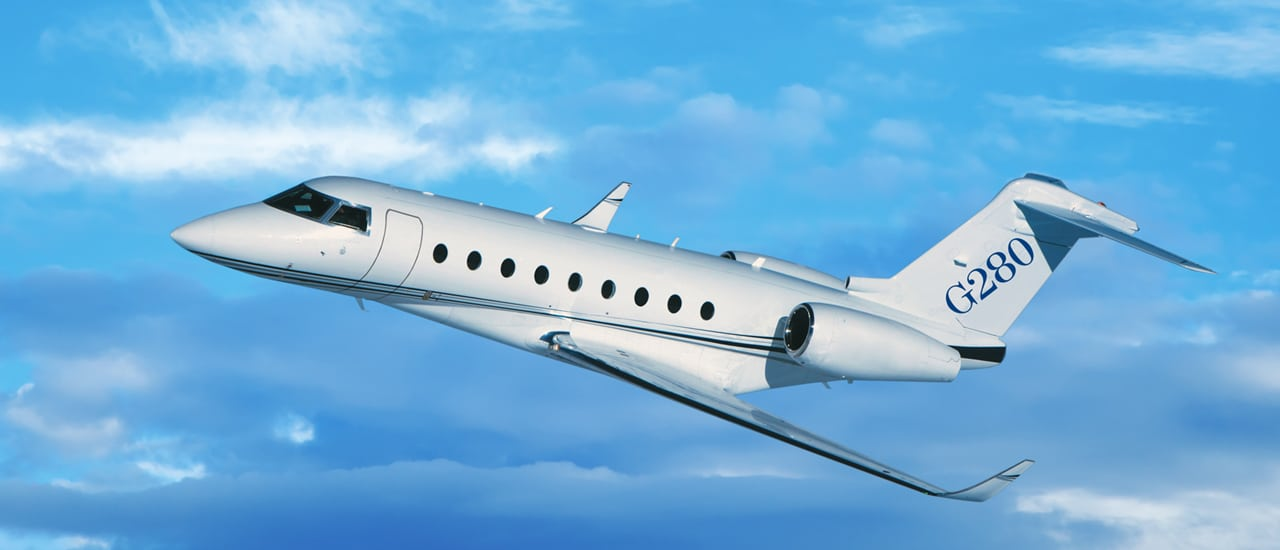 A Gulfstream 280 Flight