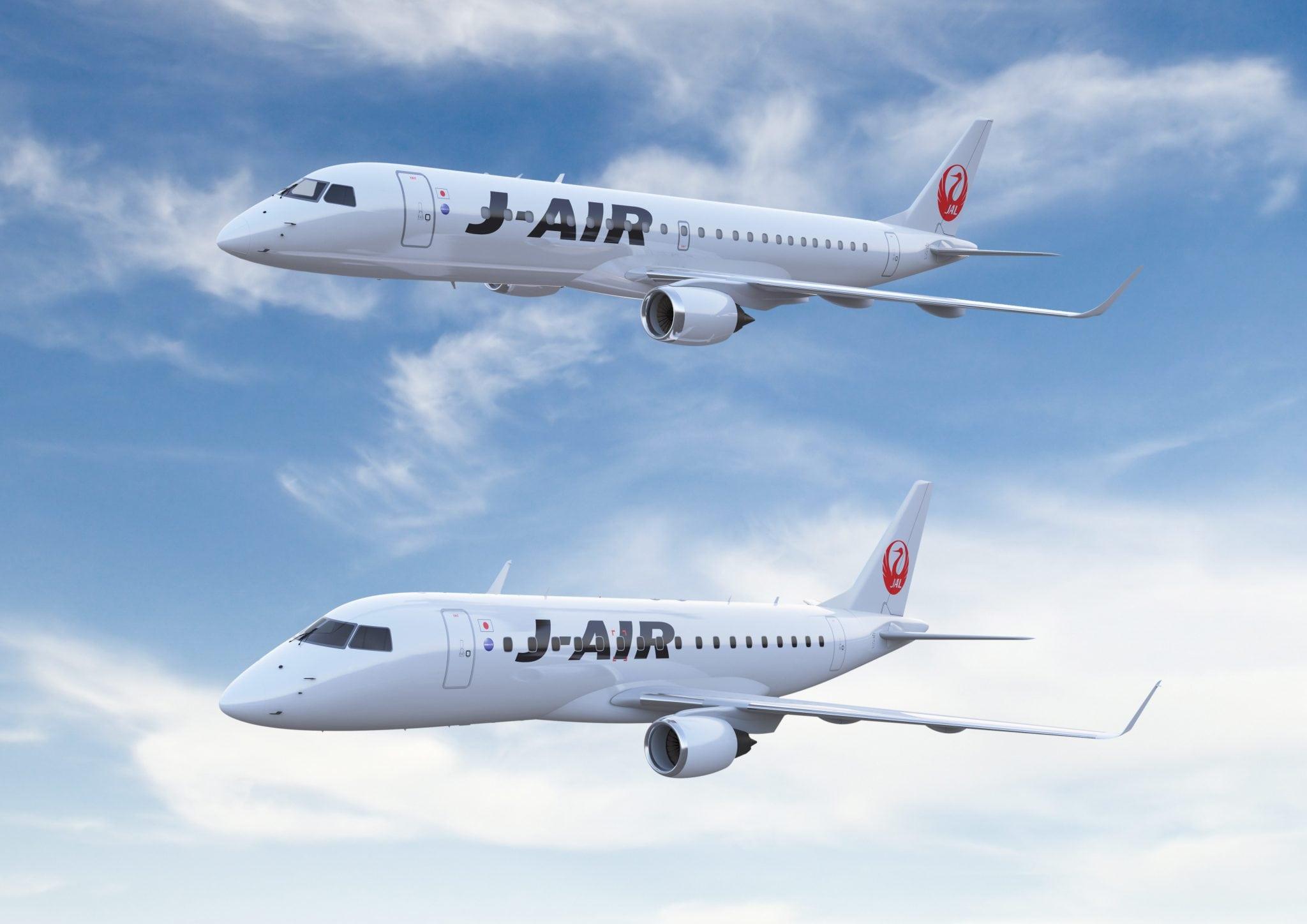 J-Air E170 and E190