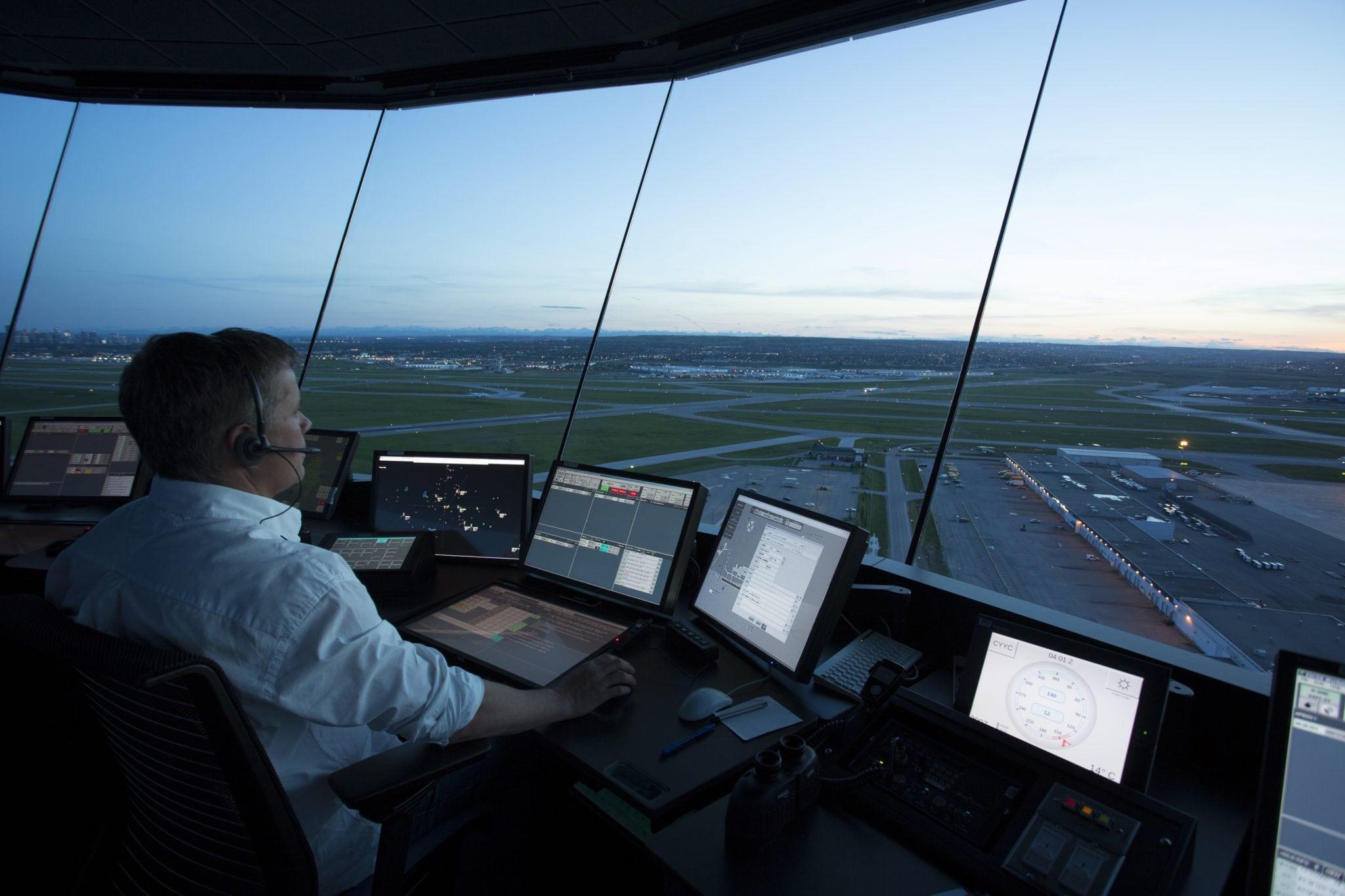 Calgary Control Tower