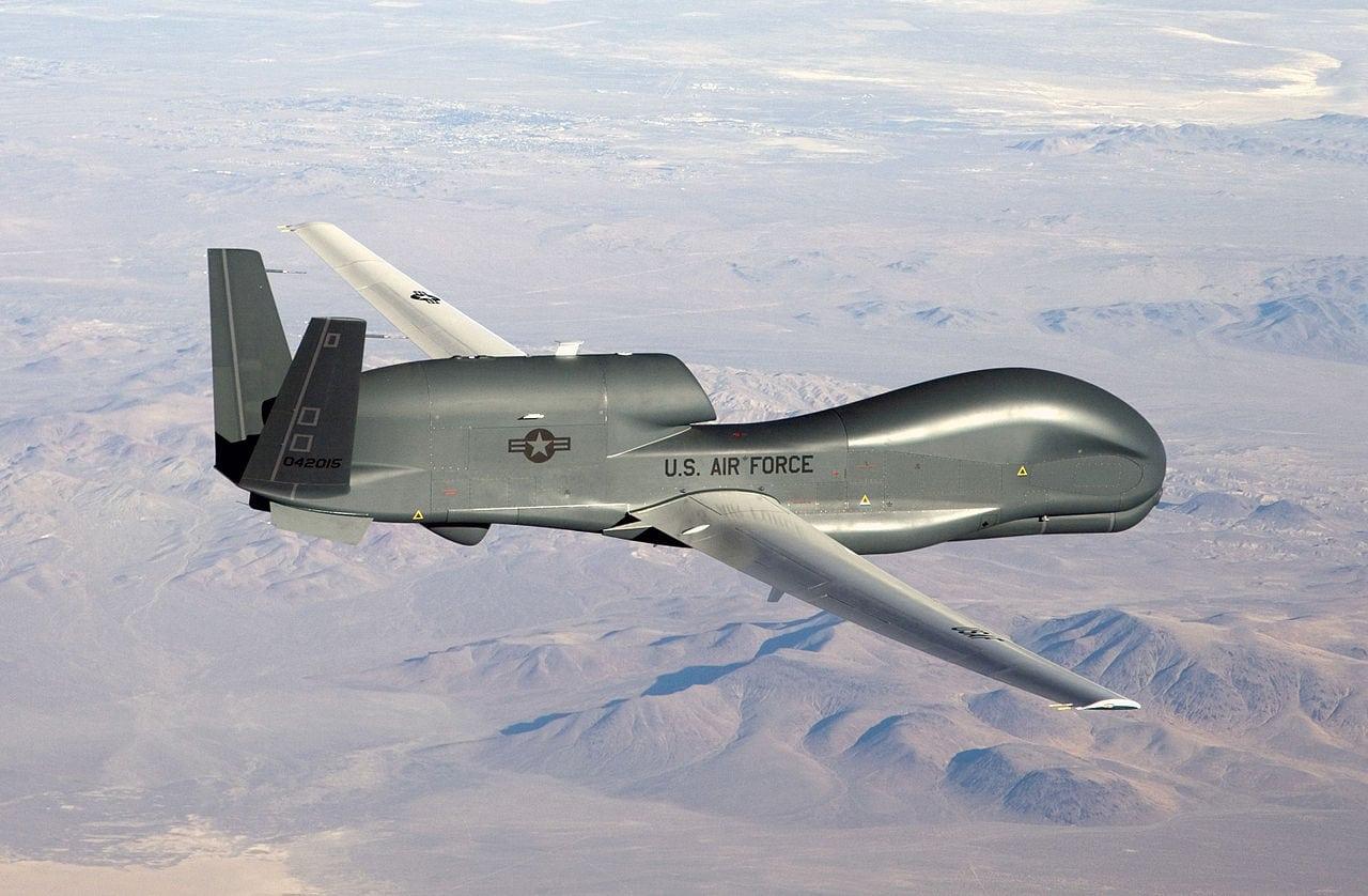 A Northrop Grumman RQ-4 Global Hawk in flight
