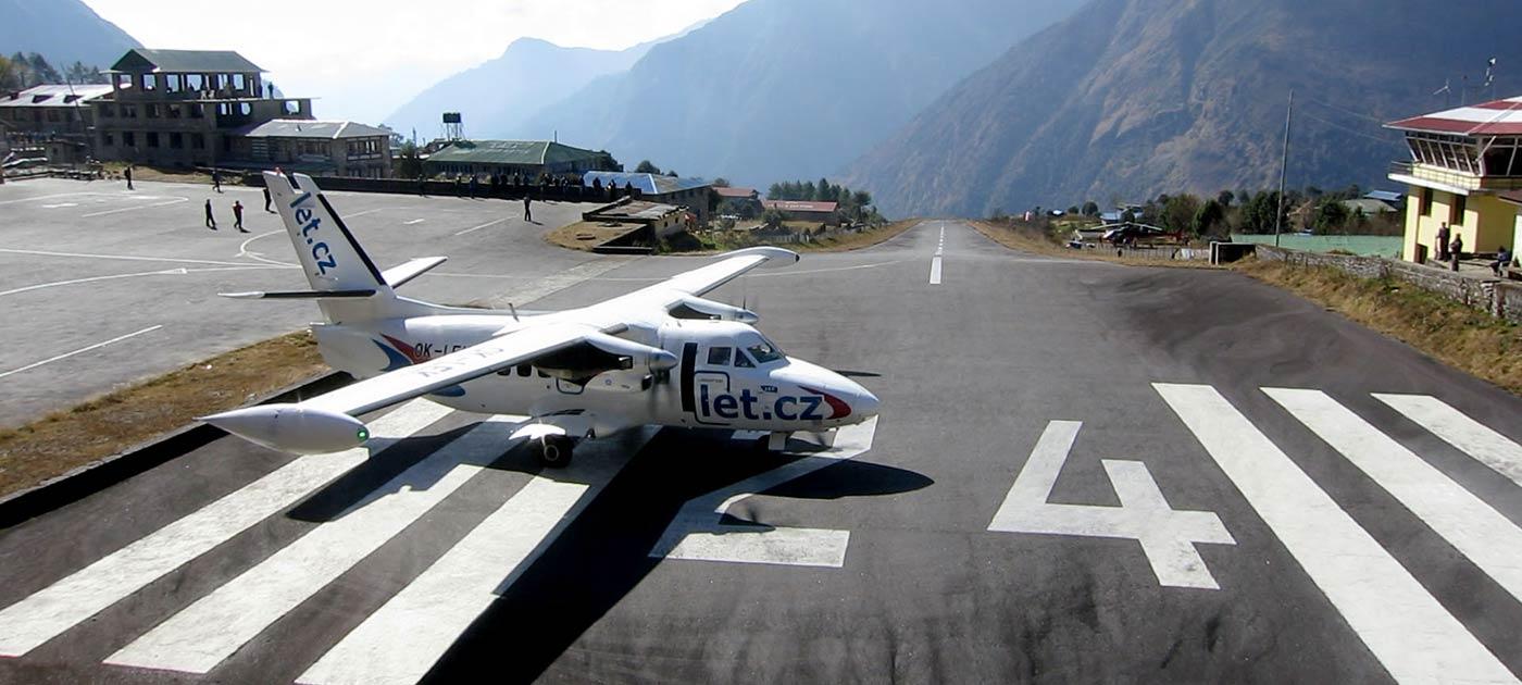 An H80 powered L-410 aircraft