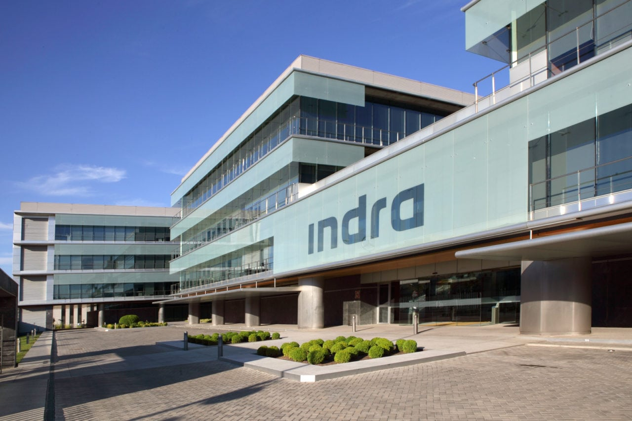 Indra headquarters in Madrid, Spain