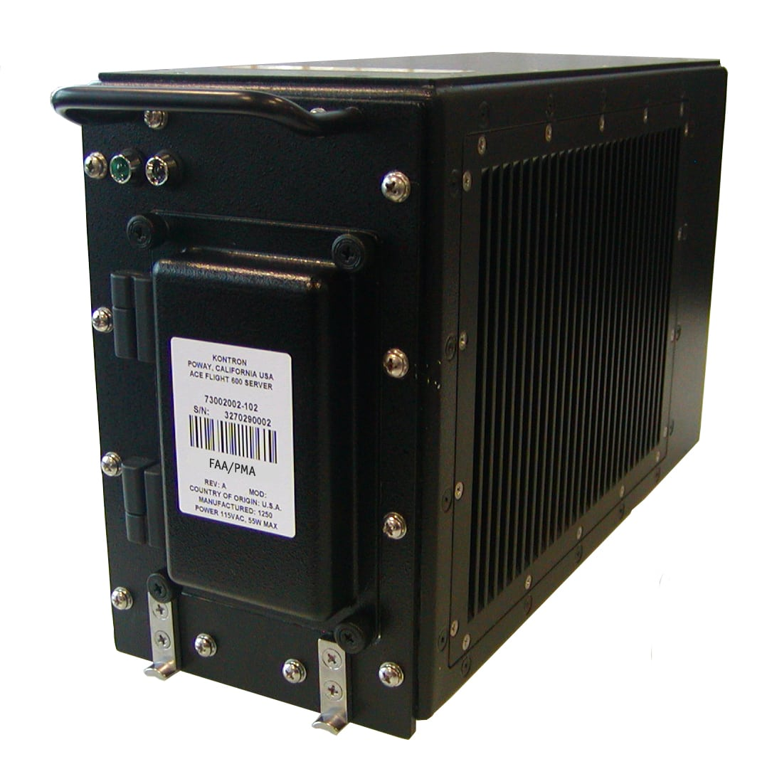 The Kontron ACE Flight 600 4G LTE server