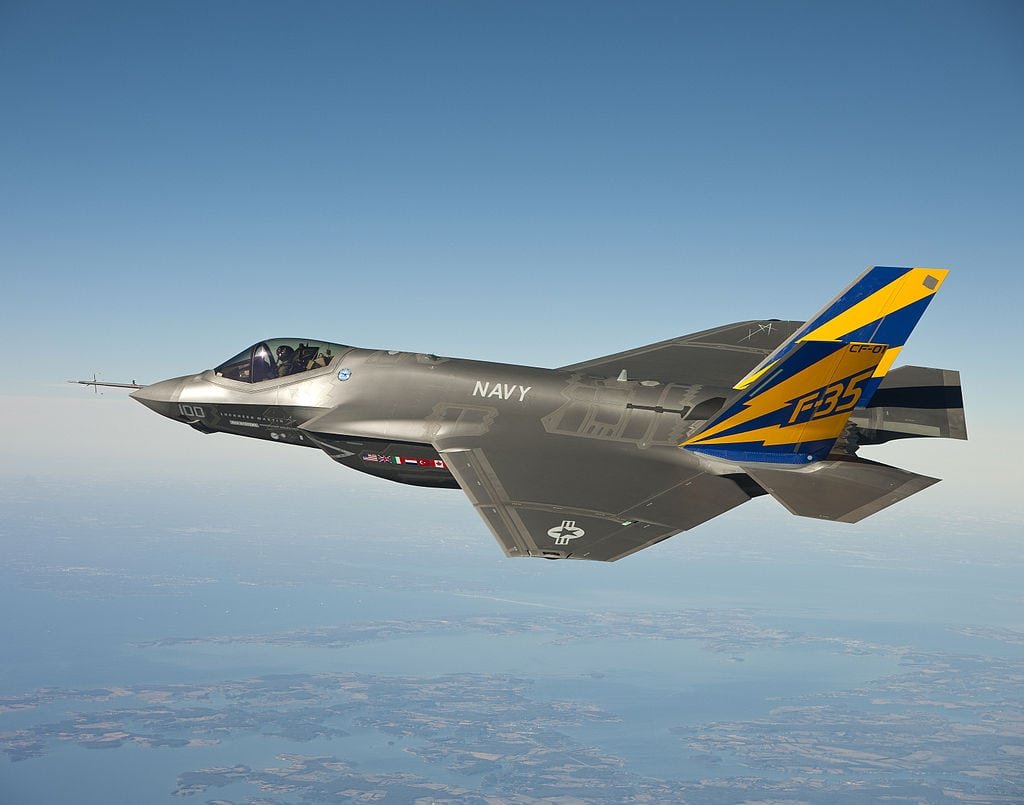 Lockheed Martin's Lightning II aircraft