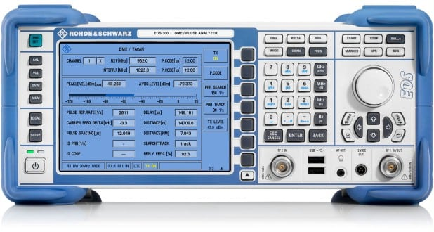 The Rohde and Schwarz EDS300 DME and Pulse Analyzer