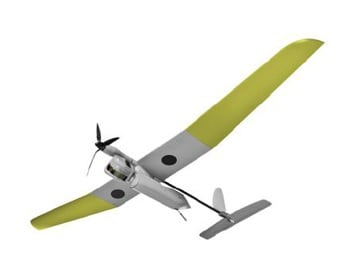 Solar UAV artist rendering