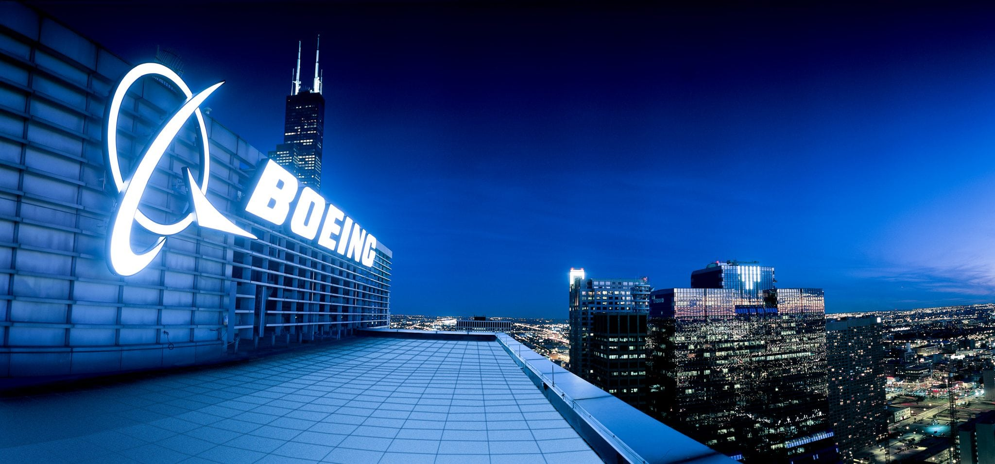 Boeing corporate offices in Chicago
