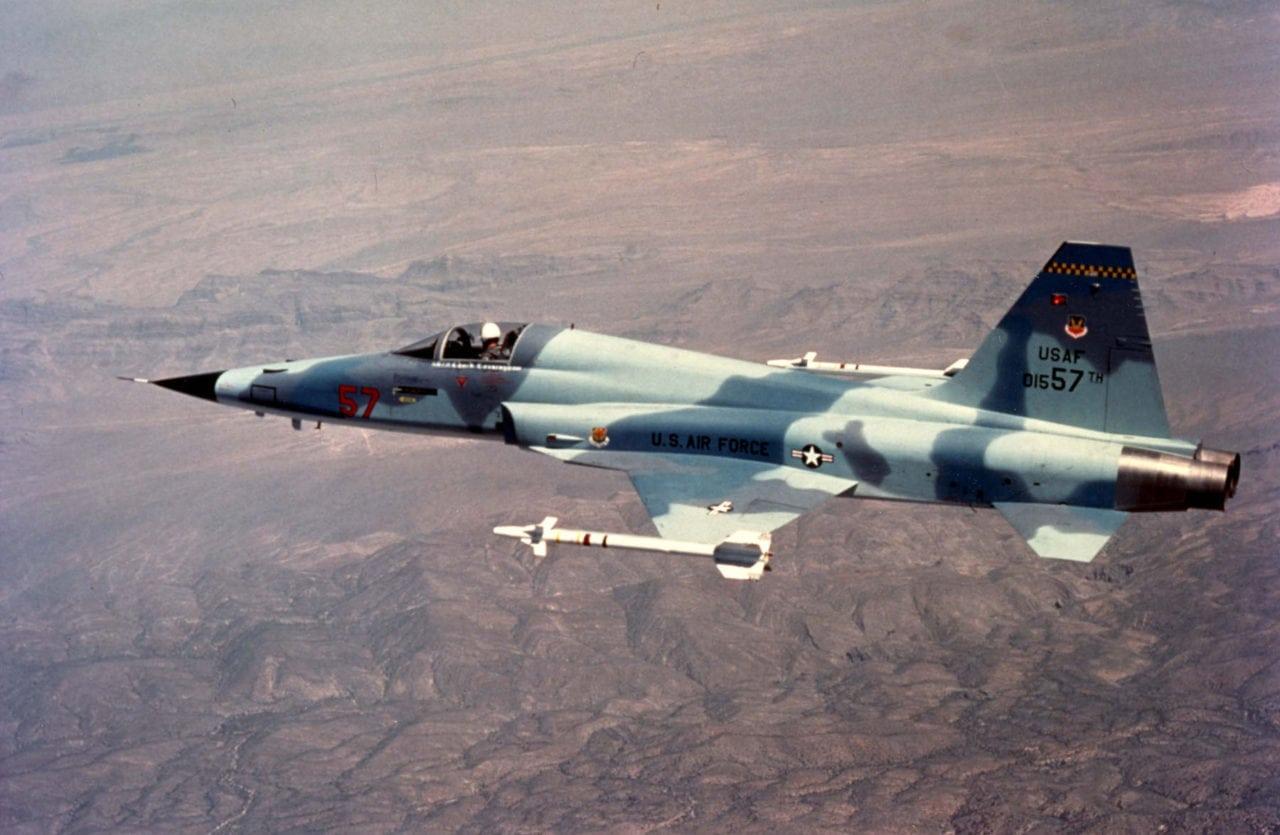 F-5 fighter jet