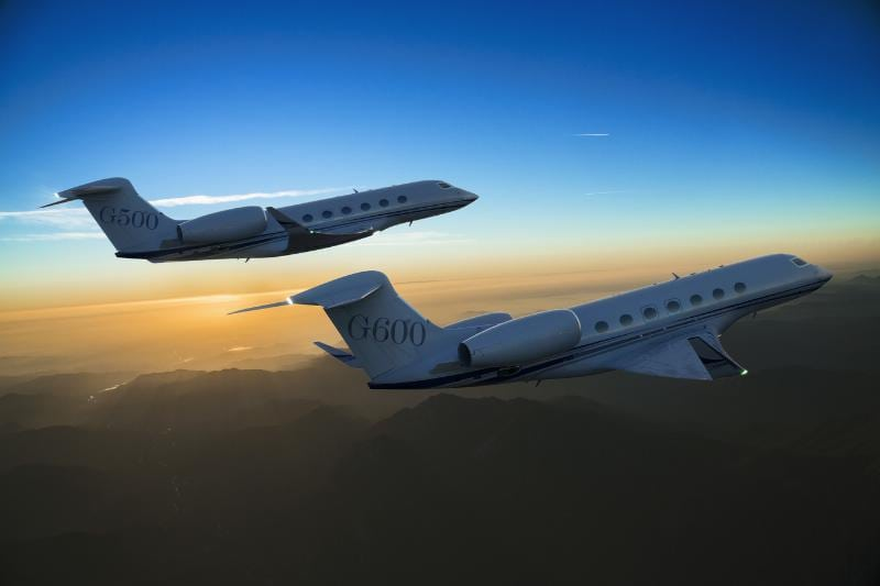 On Oct. 14, 2014, Gulfstream Aerospace Corp. introduced an all-new family of business jets: the Gulfstream G500 and G600. The two new aircraft optimize speed, wide-cabin comfort and efficiency to offer customers best-in-class performance with advanced safety features. (PRNewsFoto/Gulfstream Aerospace Corporation)