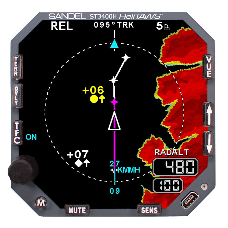 ST3400HHelicopter Terrain Awareness and Warning System (HeliTAWS)
