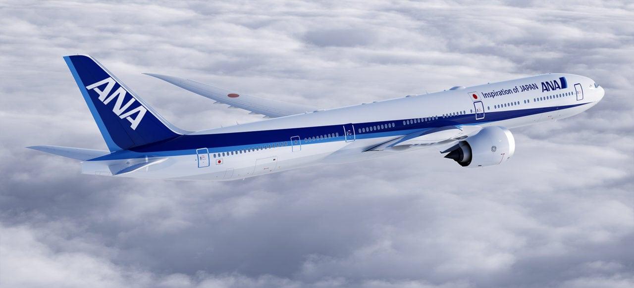 ANA 777X aircraft