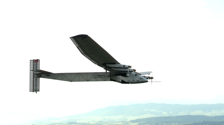 Solar Impulse 2 first flight