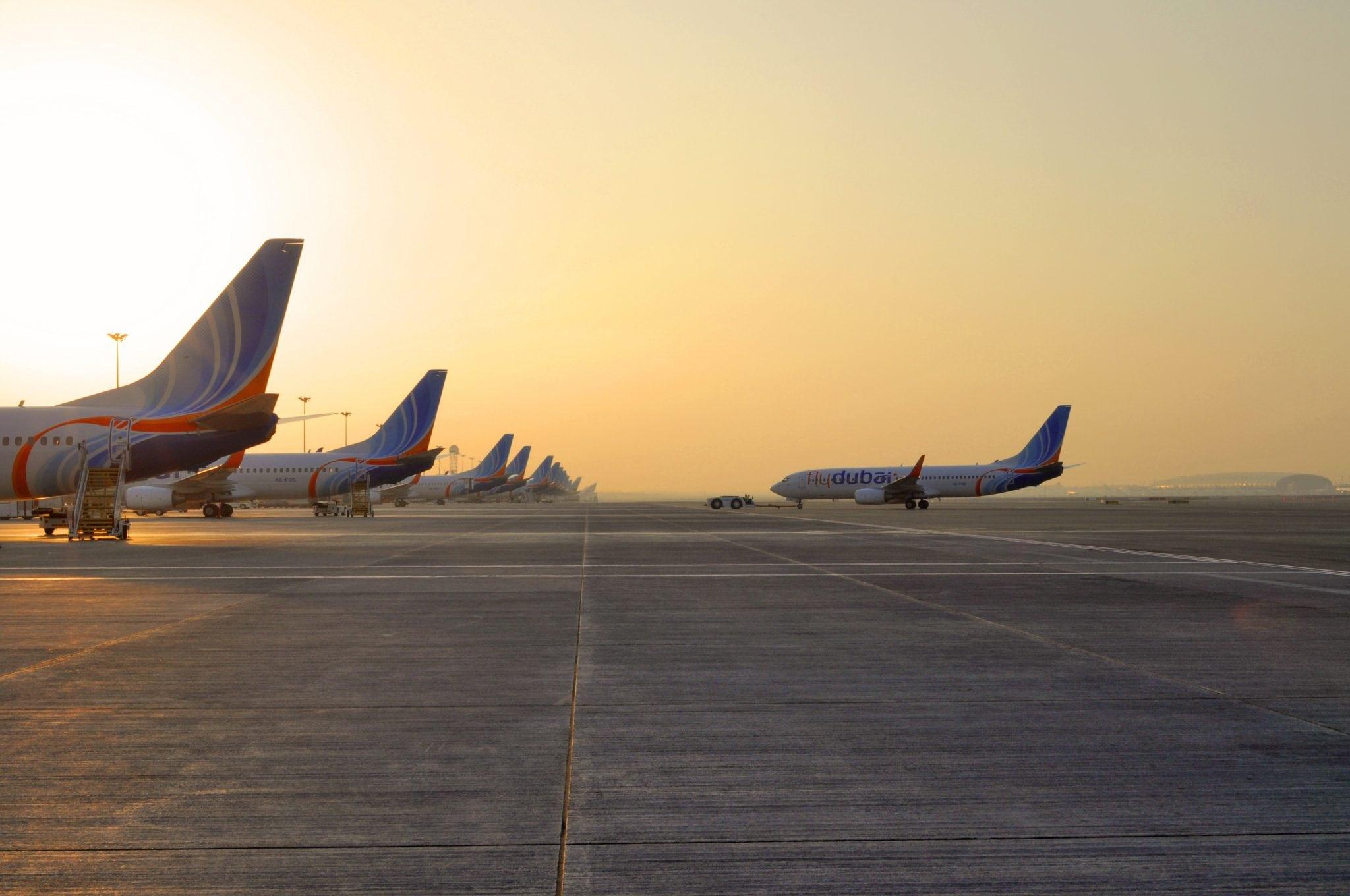 Terminal 2 Ramp at Dubai International Airport