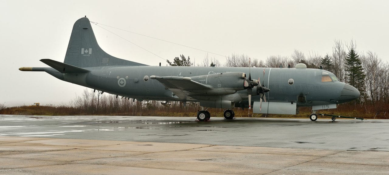 imp delivers first blos-fitted aurora aircraft to canadian air force