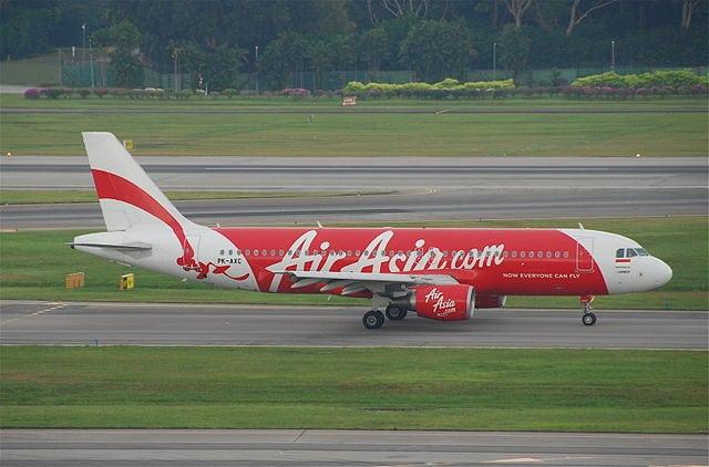 AirAsia Airbus A320-200 aircraft