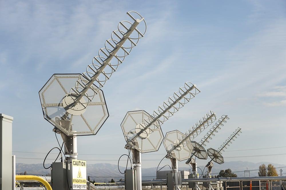 MUOS TRAF antenna