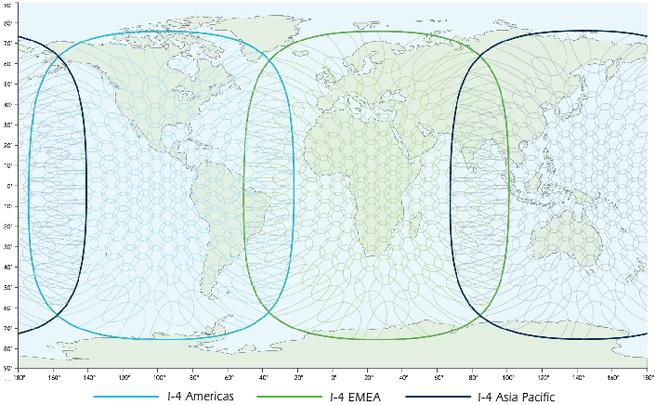 A chart showing Swiftbroadband coverage