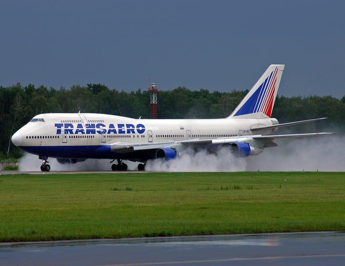 Boeing 747-346, Transaero Airlines