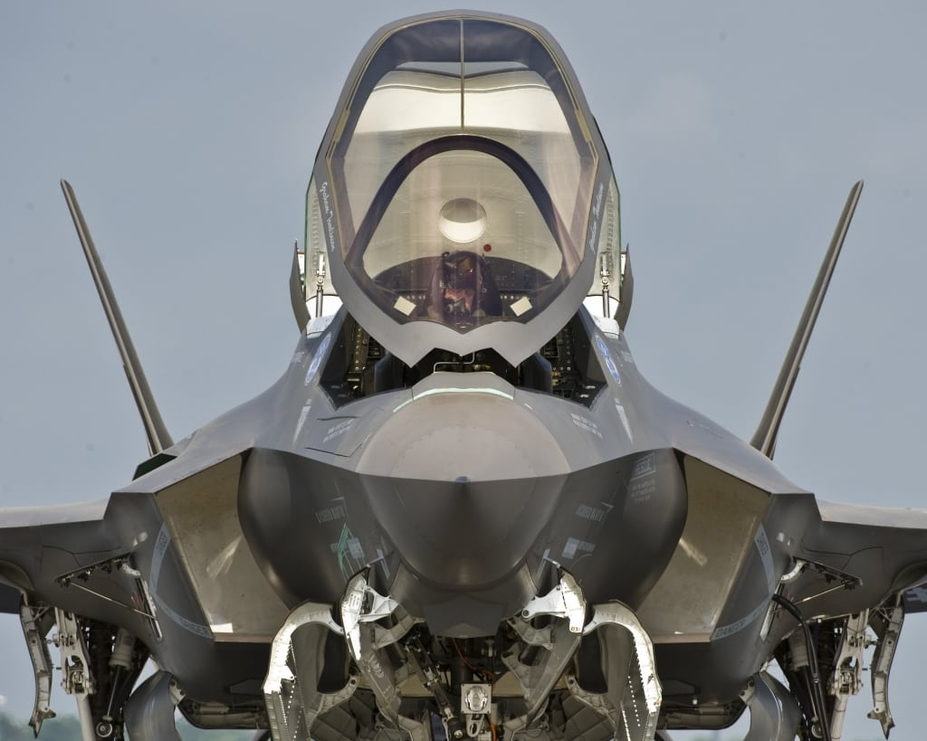 The F-35 Lightning II Joint Strike Fighter in testing