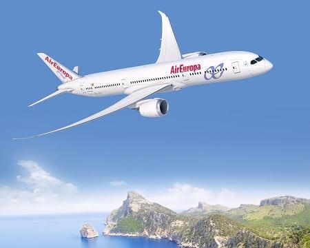 Air Europa Boeing 787-9 aircraft