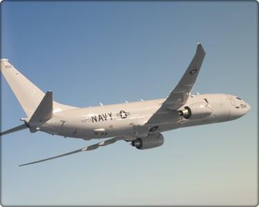 The P-8A Poseidon aircraft