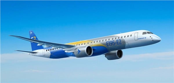 Embraer E195 E-Jet to be flown by Kalstar Aviation, rendering