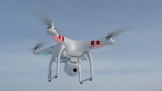 Phantom 2 Vision + quadcopter