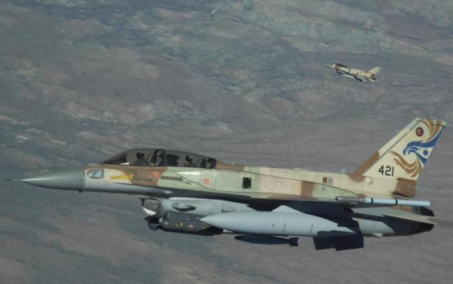 An Israeli Air Force F-16