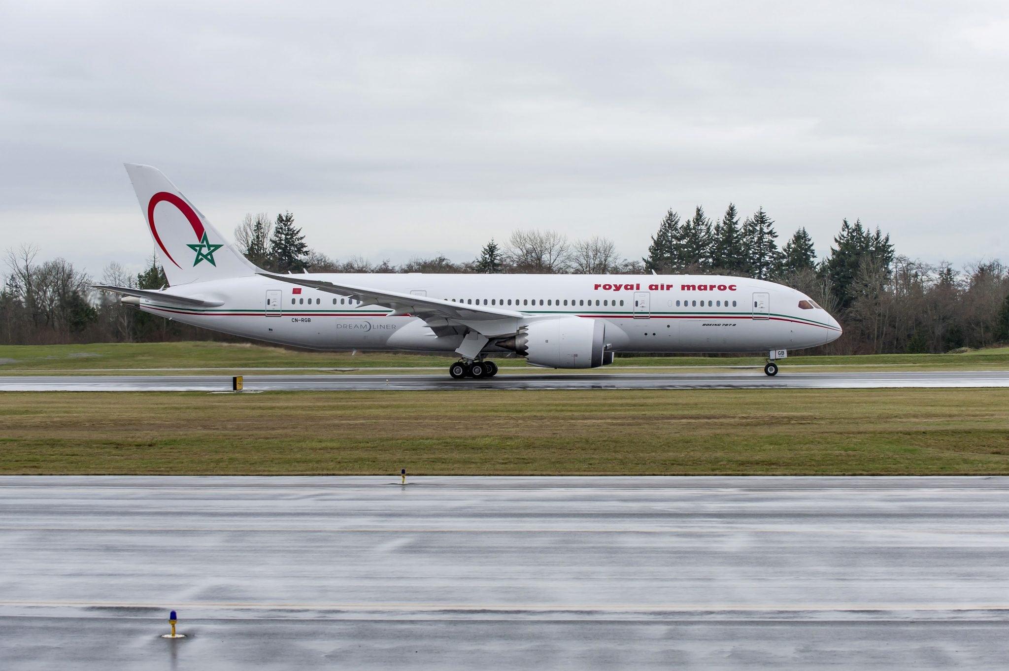 Royal Air Maroc's first 787 Dreamliner