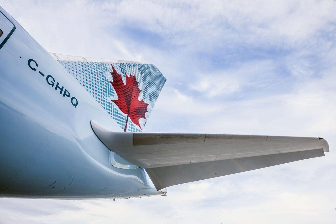 Air Canada Fin