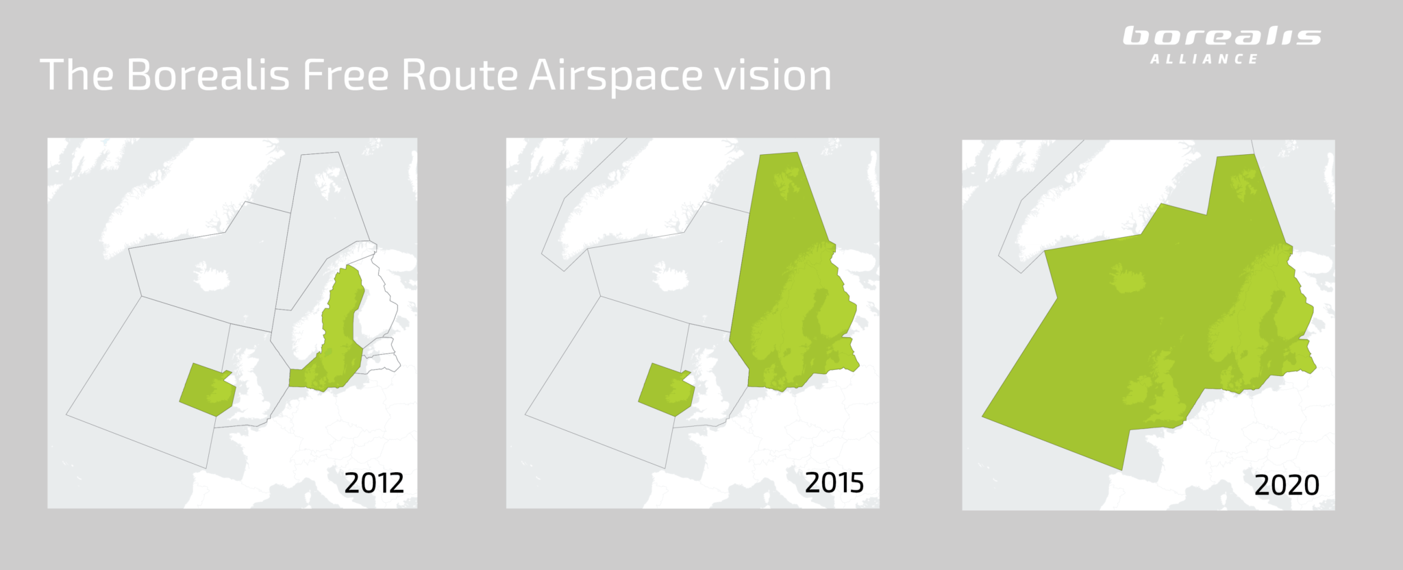 Borealis Free Route Airspace Vision
