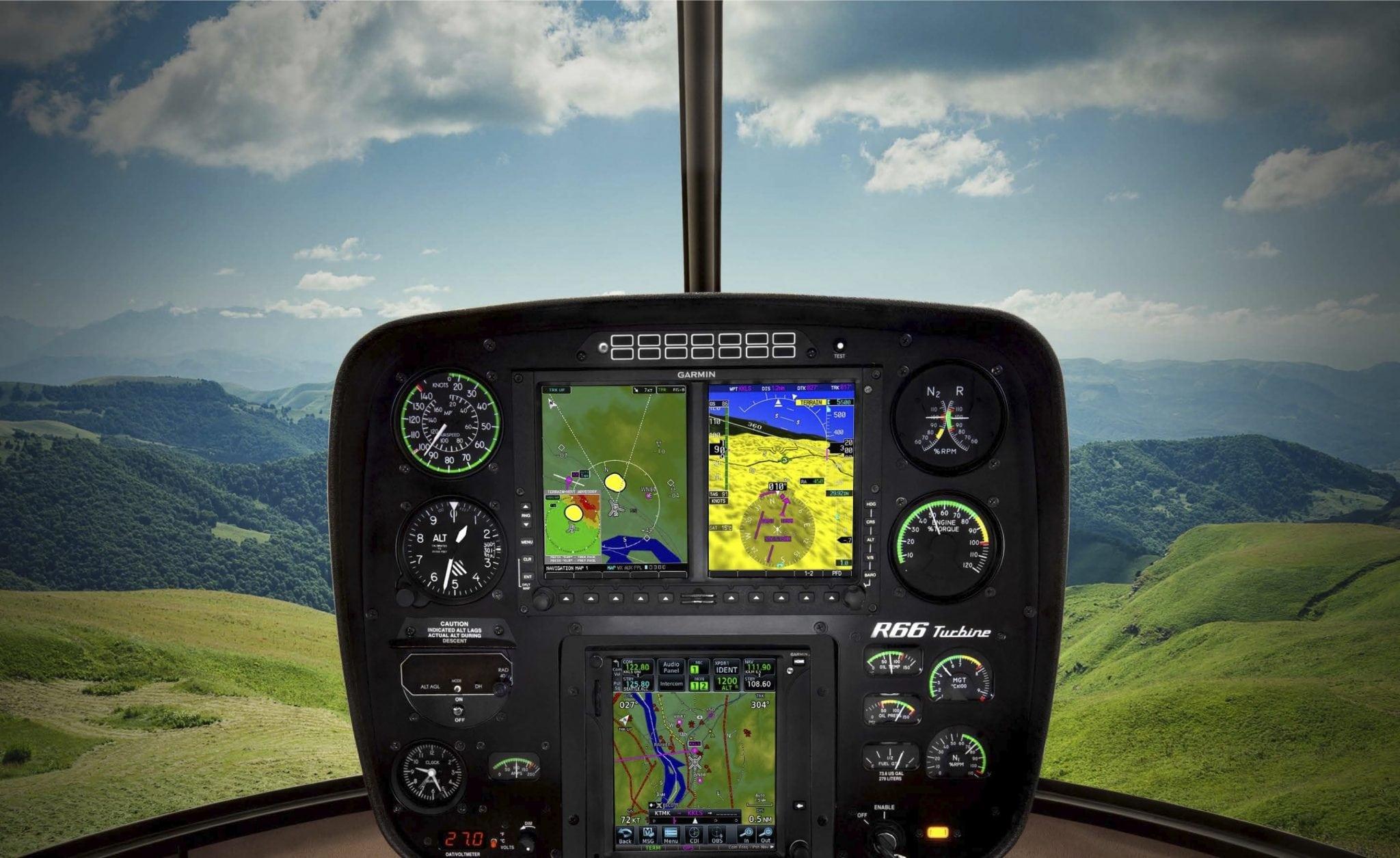 Garmin G600 and GTN 750 avionics