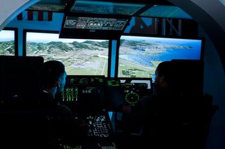 Lockheed Martin C-130J virtual maintenance trainer