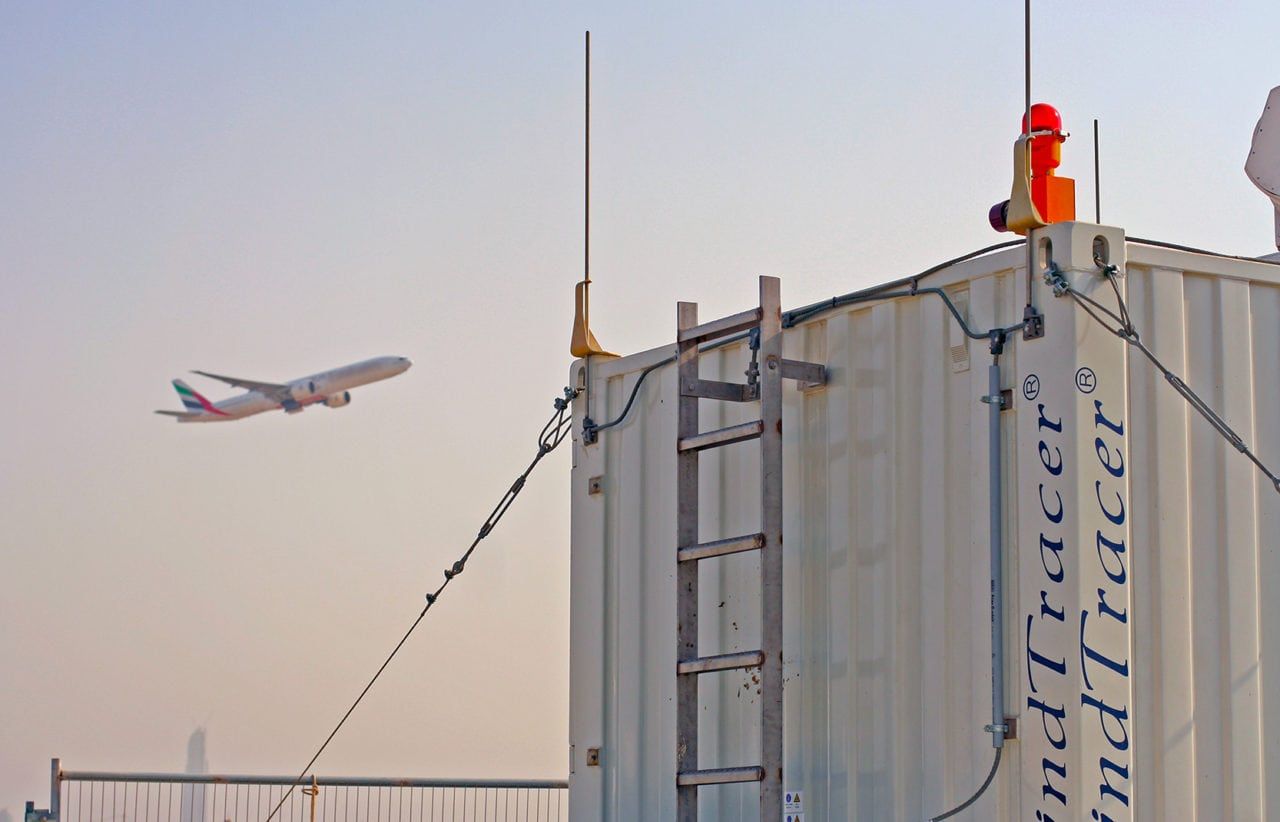 WindTracer system at the Dubai International Airport