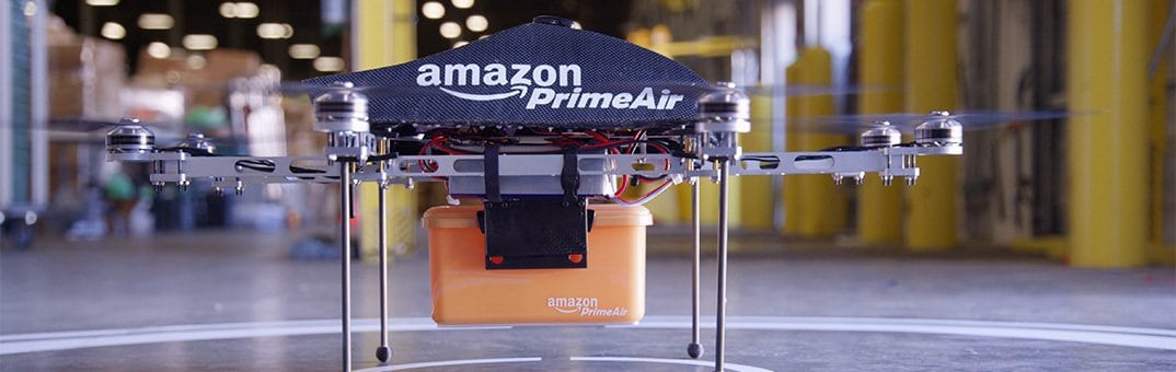 Amazon Prime air delivery UAS prototype