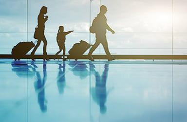 Passengers in Belo Horizonte airport. Photo: BH airport