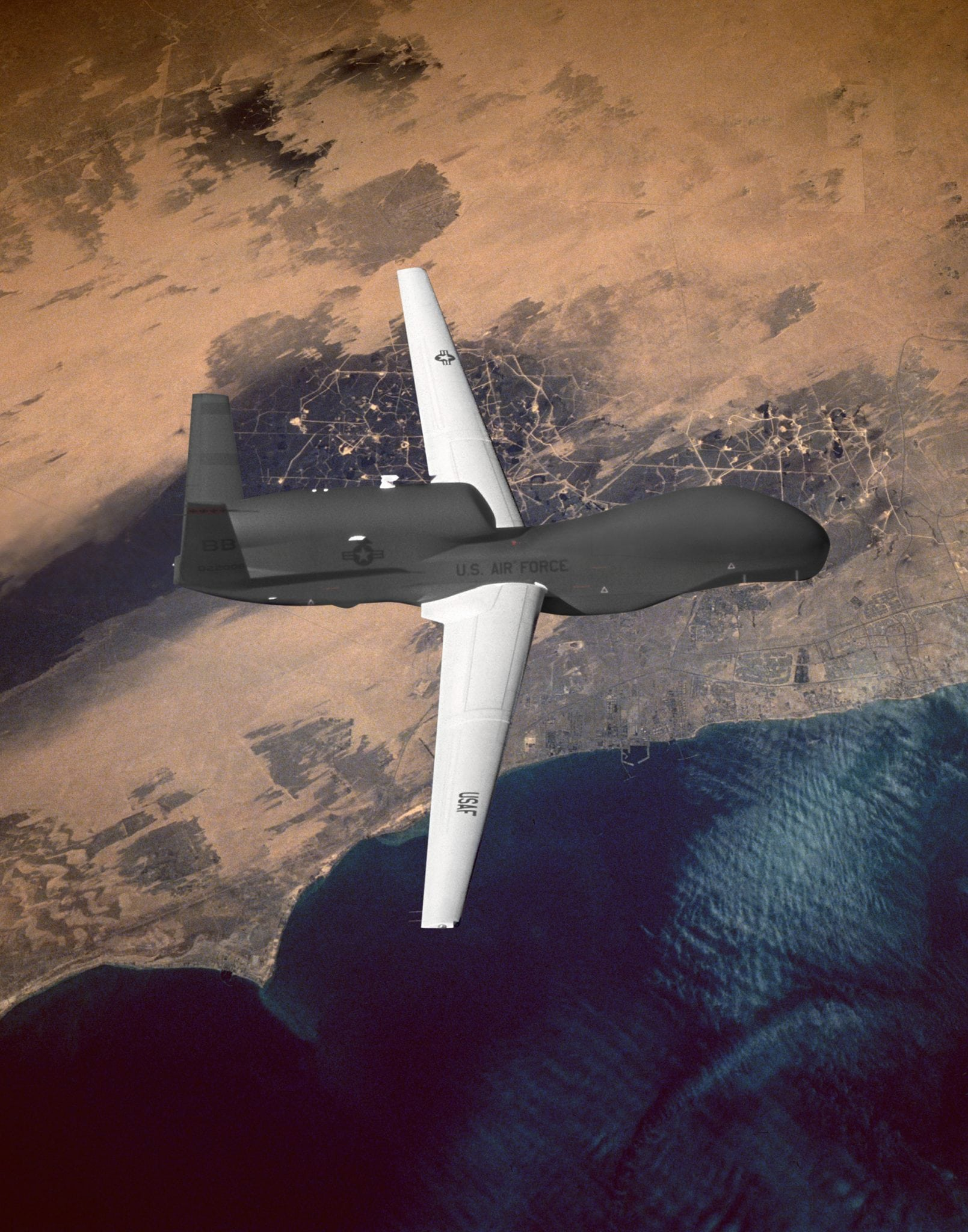 Global Hawk UAS in flight