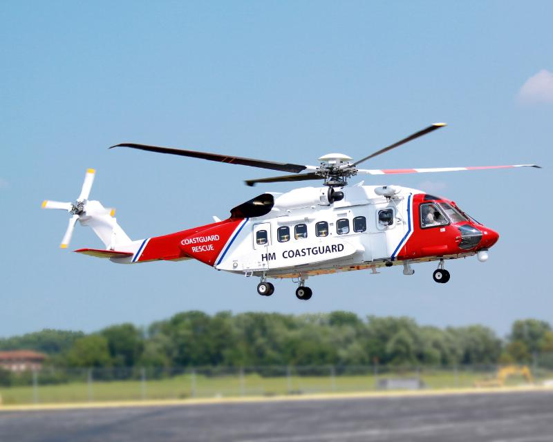 Bristow uses broadband connectivity on its new S-92s being operated for a recently acquired U.K. Search and Rescue contract