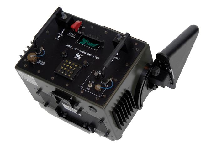 Textron Systems' Model 527 radar signal simulator