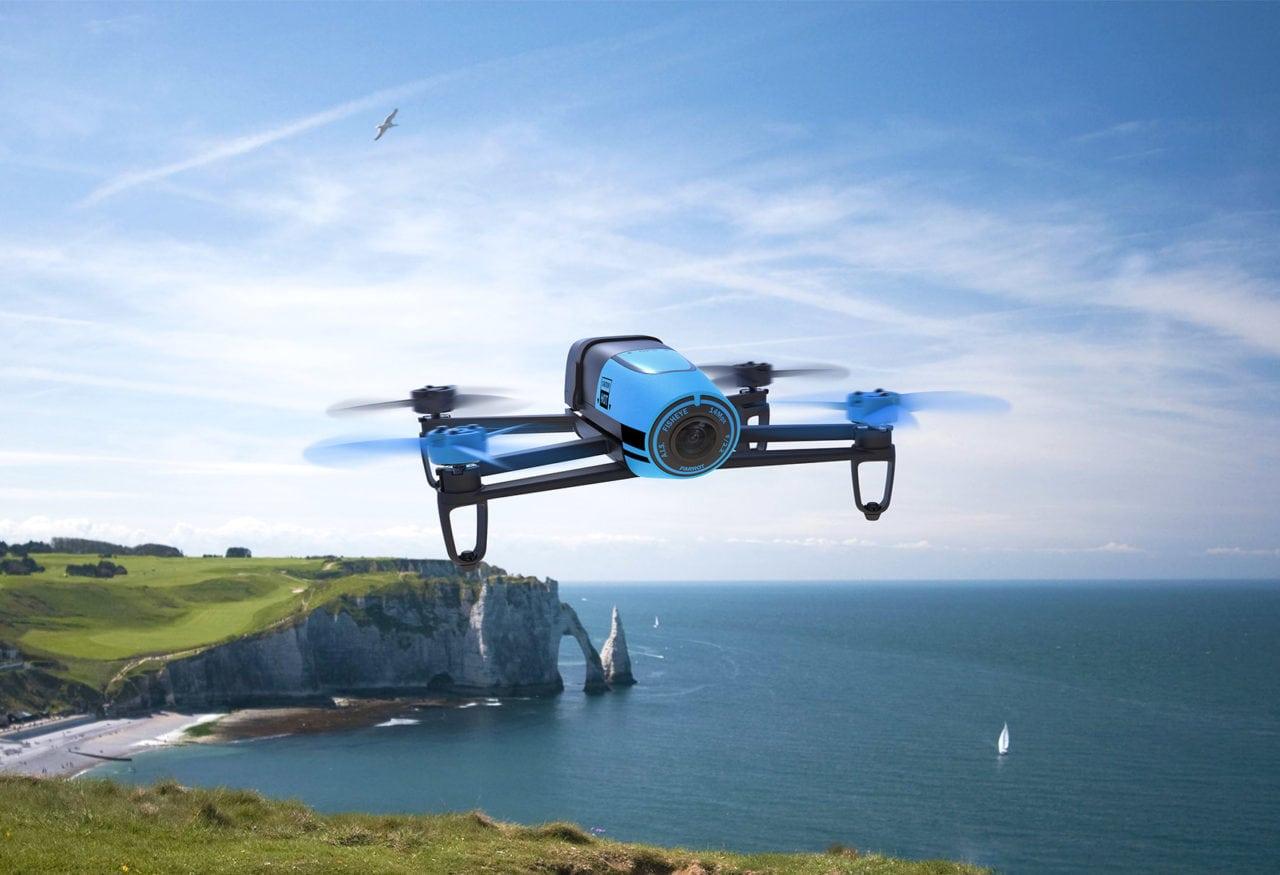 Inmarsat Parrot Bebop UAV