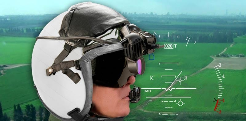Elbit Systems of America's color helmet display and tracking system
