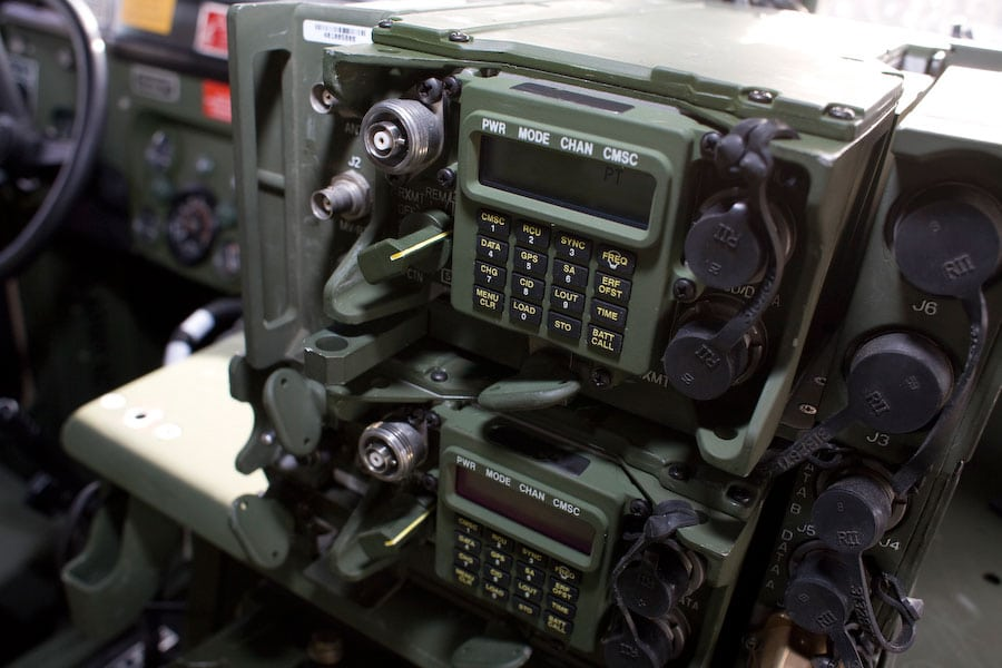 Exelis Single Channel Ground and Airborne Radio System (SINCGARS)