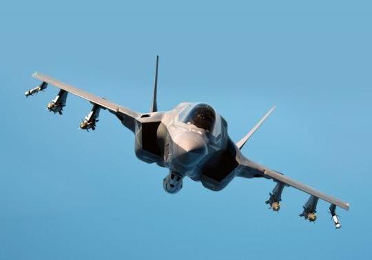 F-35B test aircraft in flight