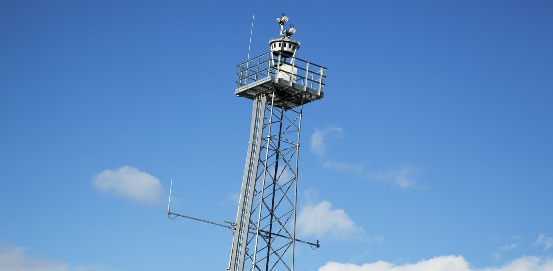 Camera used in remote tower operations